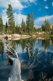 Lago mountain Fotos de archivo