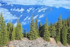 Lago mountain. Foto de archivo libre de regalías