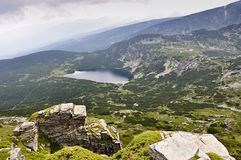 Lago mountain Fotografie Stock