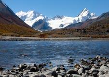 Lago mountain Immagine Stock