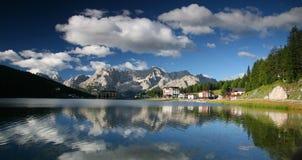 Lago mountain Fotos de Stock Royalty Free