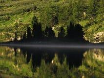 Lago mountain in altai Fotografie Stock Libere da Diritti