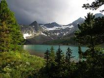 Lago mountain in altai Fotografia Stock Libera da Diritti