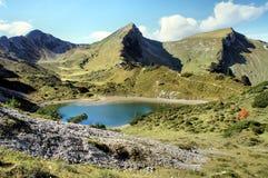 Lago mountain in autunno Fotografie Stock