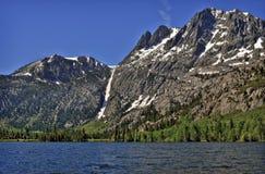 Lago mountain, California Immagine Stock