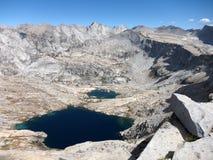 Lago mountain, California Immagini Stock