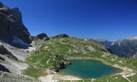 Lago mountain (coldai) Fotografie Stock
