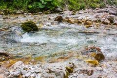 Lago mountain con el torbellino Imágenes de archivo libres de regalías