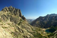 Lago mountain (Corsica - Francia) Fotografia Stock Libera da Diritti