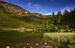 Lago mountain de Sureanu Fotos de archivo libres de regalías