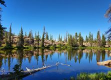 Lago mountain de Utah imágenes de archivo libres de regalías