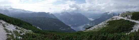 Lago mountain di Hallstatt Austria 5 immagini stock libere da diritti