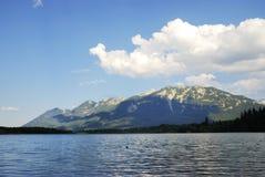 Lago mountain di Karwendel Immagini Stock