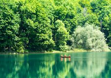 Lago mountain en Montenegro Foto de archivo