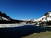 Lago mountain en resorte Imagen de archivo