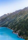 Lago mountain, il Kazakistan Fotografie Stock Libere da Diritti