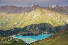 Lago mountain, il Kazakistan Immagini Stock Libere da Diritti