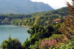Lago mountain, Italy Foto de Stock Royalty Free