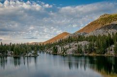 Lago mountain, John Muir Wilderness Foto de archivo libre de regalías