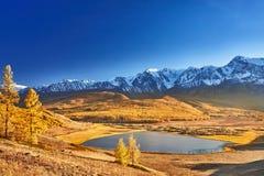 Lago mountain, montagne di Altai Fotografie Stock Libere da Diritti