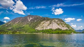 Lago mountain nelle alpi di estate, Austria Fotografie Stock Libere da Diritti