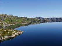 Lago mountain, Norvegia Immagine Stock