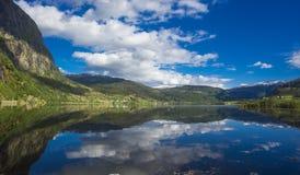 Lago mountain, Norvegia Immagini Stock