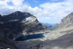 Lago mountain, Norvegia fotografie stock