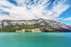 Lago mountain - Svizzera Immagine Stock Libera da Diritti