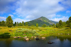 Lago mountains Immagine Stock Libera da Diritti