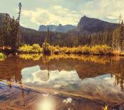 Lago mountains Fotografía de archivo libre de regalías