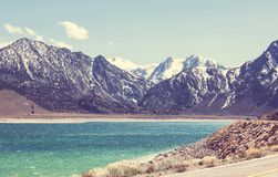 Lago mountains Fotografía de archivo