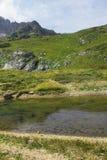 Lago mountains del Cáucaso Imagen de archivo libre de regalías
