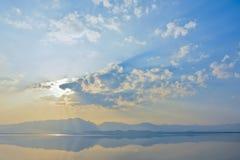Lago mountains in Tailandia del Nord Immagini Stock Libere da Diritti