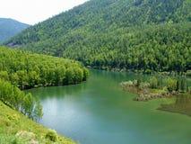 Lago Mountian Fotografie Stock