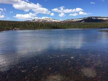 Lago Mountin Fotografia Stock