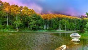 Lago Moutsalia Immagine Stock Libera da Diritti