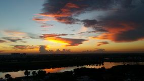 Lago Muangthong Imagens de Stock Royalty Free