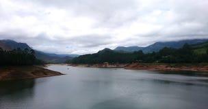 Lago Munnar Fotografie Stock