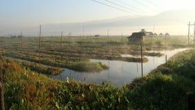 lago myanmar del inle Fotografie Stock