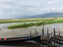 Lago myanmar Inle (Burma) Foto de Stock