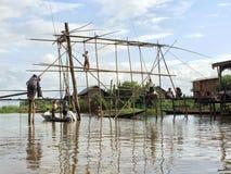 Lago myanmar Inle (Burma) Fotografia de Stock Royalty Free