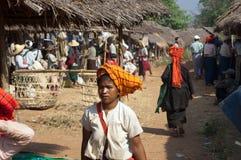 Lago Myanmar Inly, tradizionale Immagini Stock Libere da Diritti