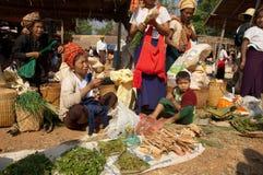 Lago Myanmar Inly, tradizionale Fotografia Stock