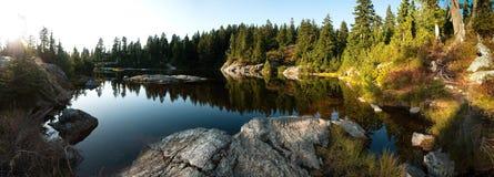 Lago mystery, montaje Seymour Imágenes de archivo libres de regalías