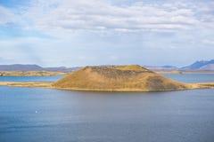 Lago Myvatn Imágenes de archivo libres de regalías