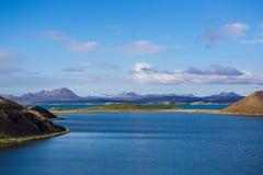 Lago Myvatn Fotos de archivo libres de regalías