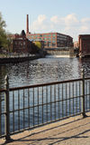 Lago na cidade de Tampere Imagem de Stock Royalty Free