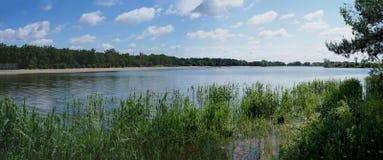 Lago na imagem infravermelha de Poland Fotos de Stock Royalty Free