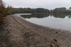 Lago na manhã Foto de Stock